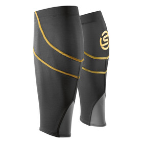 Skins Essentials Calf Tights Unisex MX Bblack/Yellow